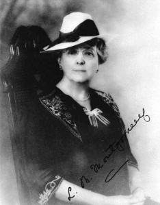 Autographed photogragh of L.M.Montgomery